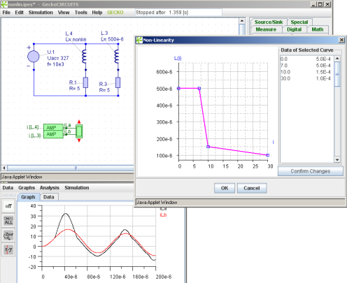 Power Electronics Simulation - How to simulate non-linear inductors